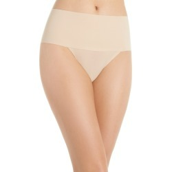 Women's Spanx Undie-Tectable Thong, Size X-Small - Beige found on MODAPINS from Nordstrom for USD $24.00