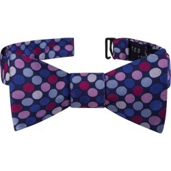 Men's Ted Baker London Dot Silk Bow Tie, Size One Size - Blue found on Bargain Bro India from Nordstrom for $59.50