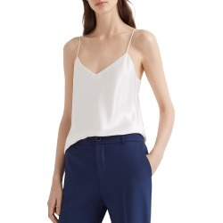 Women's Club Monaco Kora Satin Camisole, Size X-Large - Ivory found on Bargain Bro Philippines from Nordstrom for $98.50