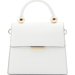 Aldo Triewiel Faux Leather Handbag - White found on MODAPINS from Nordstrom for USD $55.00