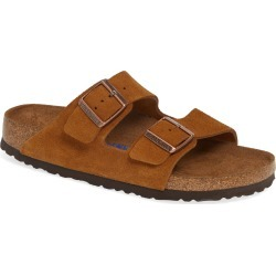 Women's Birkenstock 'Arizona' Soft Footbed Suede Sandal, Size 8-8.5US / 39EU B - Brown found on Bargain Bro Philippines from Nordstrom for $134.95