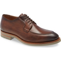 Men's Magnanni Macar Moc Toe Derby, Size 9 M - Brown found on Bargain Bro from Nordstrom for USD $300.20