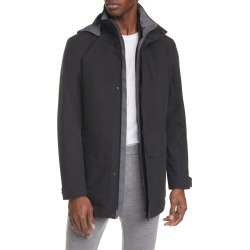 Men's Z Zegna Trim Fit 3-In-1 Raincoat, Size Small - Black found on MODAPINS from Nordstrom for USD $1395.00
