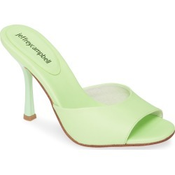 Women's Jeffrey Campbell Pg13 Slide Sandal, Size 10 M - Green found on Bargain Bro Philippines from Nordstrom for $124.95