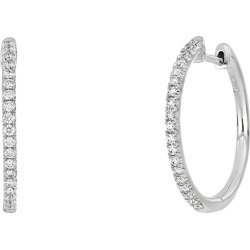 Women's Bony Levy Audrey Diamond Huggie Hoop Earrings (Nordstrom Exclusive) found on Bargain Bro India from Nordstrom for $1695.00
