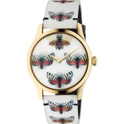 Women's Gucci G-Timeless Holo Strap Watch, 38Mm found on Bargain Bro Philippines from Nordstrom for $1100.00
