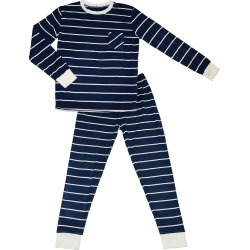 Infant Boy's Baby Grey By Everly Grey Fitted Two-Piece Pajamas, Size 9-12M - Blue found on Bargain Bro India from LinkShare USA for $39.95
