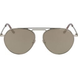 Cutler And Gross 56mm Aviator Sunglasses - Gold/ Pink Gradient found on MODAPINS from Nordstrom for USD $475.00