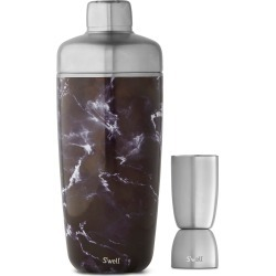 S'Well Black Marble 25-Ounce Cocktail Shaker Set, Size One Size - Black found on Bargain Bro Philippines from LinkShare USA for $40.00
