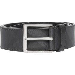 Men's Burberry London Check Belt, Size 105 EU - Dark Charcoal/ Black found on MODAPINS from Nordstrom for USD $310.00