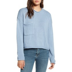 Women's Bdg Urban Outfitters Utility Sweater, Size Large - Blue