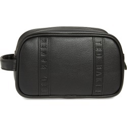Ted Baker London Vanes Faux Leather Dopp Kit, Size One Size - Black found on Bargain Bro Philippines from Nordstrom for $95.00