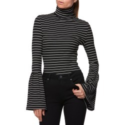 Women's Paige Kenzie Bell Sleeve Turtleneck found on MODAPINS from Nordstrom for USD $128.00