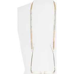 Women's Bp. Mixed Finish Glasses Chain - Gold- Silver found on Bargain Bro India from Nordstrom for $19.00