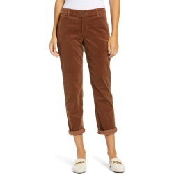 Women's Wit & Wisdom Ab-Solution Stretch Cotton Corduroy Pants, Size 16 - Brown (Nordstrom Exclusive) found on Bargain Bro from Nordstrom for USD $51.68