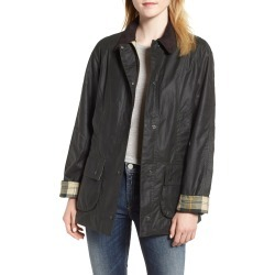 Women's Barbour Beadnell Waxed Cotton Jacket, Size 16 US / 20 UK - Green found on Bargain Bro Philippines from Nordstrom for $415.00