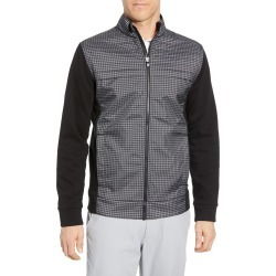 Men's Cutter & Buck Discovery Hybrid Jacket, Size X-Large - Black found on Bargain Bro from Nordstrom for USD $110.20