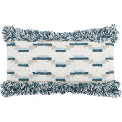 Villa Home Collection Ronan Fringe Accent Pillow, Size One Size - Blue found on MODAPINS from Nordstrom for USD $99.99