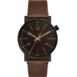 Fossil Barstow Leather Strap Watch, 42mm found on MODAPINS from LinkShare USA for USD $135.00