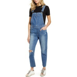 Women's Paige Sierra Ripped Skinny Overalls found on Bargain Bro Philippines from Nordstrom for $269.00