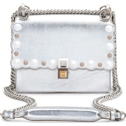Fendi Small Kan I Metallic Leather Shoulder Bag - Metallic found on Bargain Bro India from Nordstrom for $2350.00