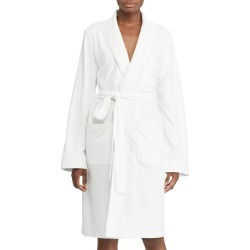 Women's Lauren Ralph Lauren Quilted Collar Robe, Size X-Large - White (Online Only) found on Bargain Bro Philippines from Nordstrom for $69.00