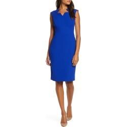 Women's Tahari Star Neckline Crepe Sheath Dress found on Bargain Bro India from Nordstrom for $49.98