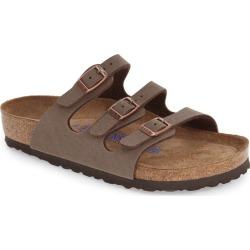 Women's Birkenstock Florida Soft Slide Sandal, Size 8-8.5US - Brown found on MODAPINS from Nordstrom for USD $109.95