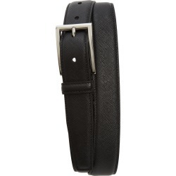 Men's Prada Saffiano Leather Belt, Size 100 EU - Nero found on MODAPINS from Nordstrom for USD $395.00