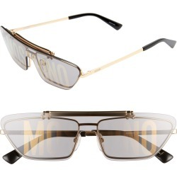 Women's Moschino 60Mm Flip Shade Flat Top Sunglasses - found on Bargain Bro Philippines from Nordstrom for $295.00