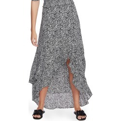 Women's 1.state Floral Print High/low Skirt