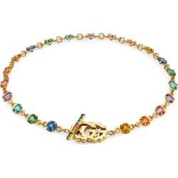 Women's Gucci Running G Semiprecious Stone R Bracelet