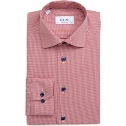Men's Eton Contemporary Fit Houndstooth Dress Shirt found on MODAPINS from Nordstrom for USD $245.00