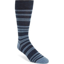 Men's Cole Haan Stripe Socks, Size One Size - Blue found on MODAPINS from LinkShare USA for USD $8.75