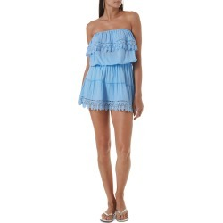 Women's Melissa Odabash Joy Cover-Up Dress, Size Small - Blue (Nordstrom Exclusive) found on Bargain Bro Philippines from Nordstrom for $199.00