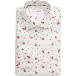 Men's Eton Slim Fit Floral Dress Shirt found on MODAPINS from Nordstrom for USD $145.00