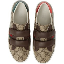 Toddler Boy's Gucci New Ace Monogram Sneaker, Size 8US / 24EU - Beige found on Bargain Bro Philippines from Nordstrom for $310.00