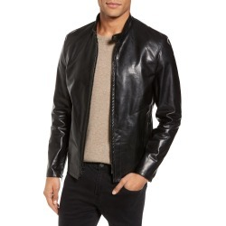 Men's Schott Nyc Cafe Racer Unlined Cowhide Leather Jacket found on MODAPINS from LinkShare USA for USD $740.00