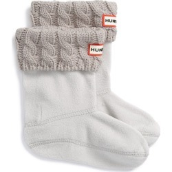 Toddler Girl's Hunter Cable Knit Cuff Welly Boot Socks, Size XS (5-7) - Grey found on Bargain Bro Philippines from Nordstrom for $30.00