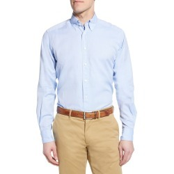 Men's Eton Soft Casual Line Contemporary Fit Oxford Casual Shirt, Size 16 - Blue found on MODAPINS from Nordstrom for USD $175.00