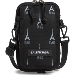 Men's Balenciaga Graphic Crossbody Pouch - found on MODAPINS from Nordstrom for USD $625.00