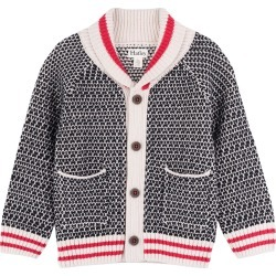 Toddler Boy's Hatley Shawl Collar Cardigan, Size 2 - Grey found on Bargain Bro India from Nordstrom for $55.00