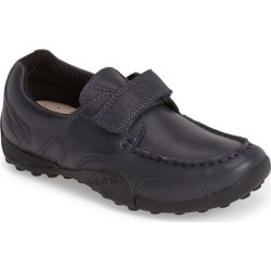 Boy's Geox Snake Moc 2 Leather Waterproof Loafer, Size 5US - Blue found on Bargain Bro from Nordstrom for USD $53.20