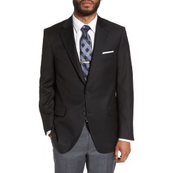 Men's Peter Millar Flynn Classic Fit Wool Blazer, Size 38S - Black found on Bargain Bro India from Nordstrom for $545.00
