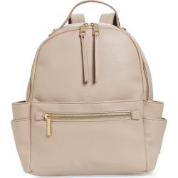 Mali + Lili Isabel Vegan Leather Backpack - Beige found on Bargain Bro India from LinkShare USA for $88.00
