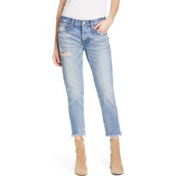 Women's Moussy Vintage Kelley Crop Tapered Jeans, Size 28 - Blue found on MODAPINS from Nordstrom for USD $325.00