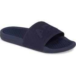 Men's Apl Big Logo Techloom Knit Sport Slide, Size 10 D - Blue found on MODAPINS from Nordstrom for USD $99.95