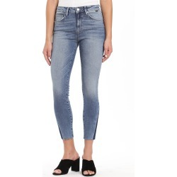 Women's Mavi Jeans Tess High Waist Raw Ankle Skinny Jeans found on MODAPINS from Nordstrom for USD $118.00
