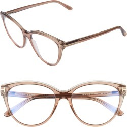Women's Tom Ford 54mm Blue Light Blocking Optical Glasses - found on Bargain Bro Philippines from Nordstrom for $360.00
