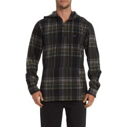 Men's Billabong Furnace Hooded Sweatshirt, Size Large - Black found on MODAPINS from LinkShare USA for USD $69.95